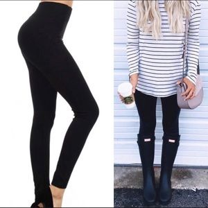 ‼️OS High Waisted Black Leggings Available NOW‼️